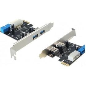 Placa PCI-E 4 portas USB 3.0