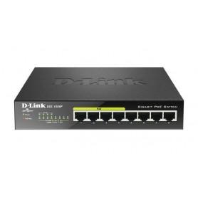 D-Link DGS-1008P 8-port 10/100/1000Mbps Desktop Switch