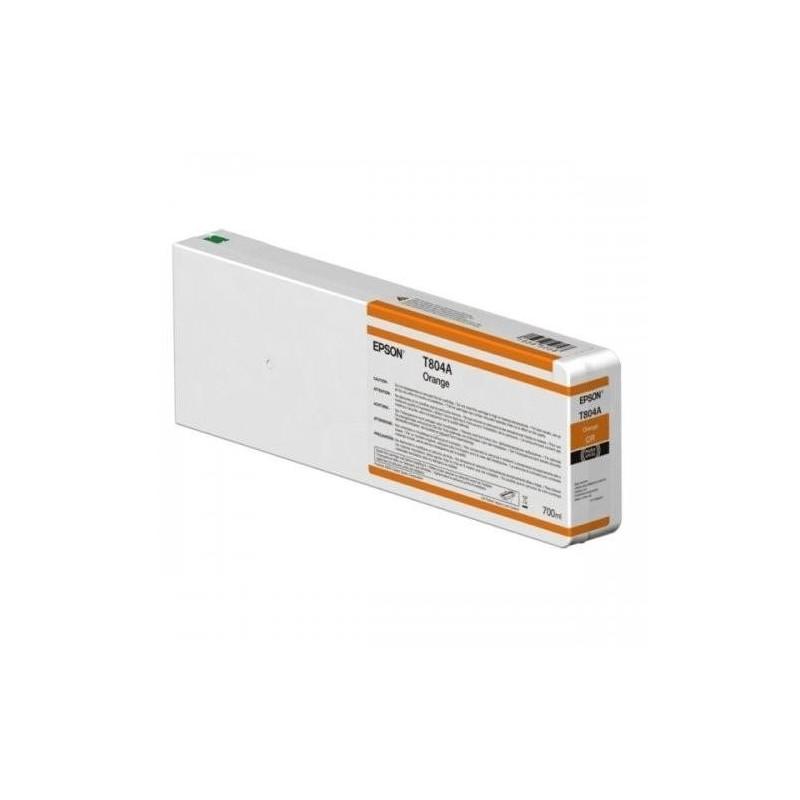Epson T804A/T824A Orange Compatível
