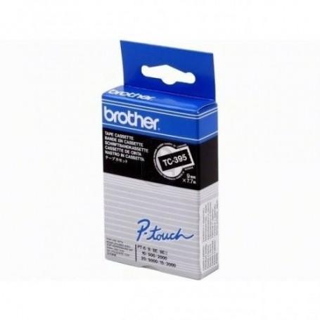 Brother TC-395 Fita White/Black Original