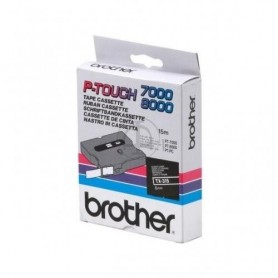 Brother TX315 Fita White/Black Original