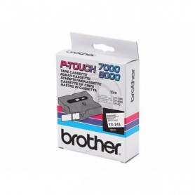 Brother TX241 Fita Black/White Original