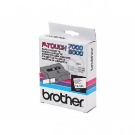 Brother TX241 Fita Black/White Original