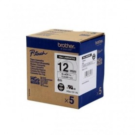Brother HGe131V5 Fita Black/Clear Original