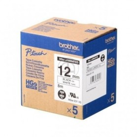 Brother HGe231V5 Fita Black/Clear Original