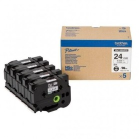 Brother HGe151V5 Fita Black/Clear Original