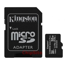 Kingston MicroSD  Canvas Select Plus 32GB class10 UHS-I SDHC(100MB/s)