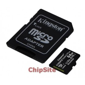 Kingston MicroSD  Canvas Select Plus 64GB class10 UHS-I SDHC(100MB/s)