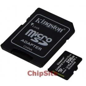 Kingston MicroSD  Canvas Select Plus 256GB class10 UHS-I SDHC(100MB/s)