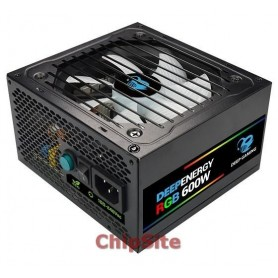 CoolBox DeepEnergy 600W  80 PLUS Bronze  RGB