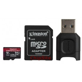 MicroSD Kingston Canvas React Plus 64GB