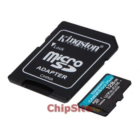 MicroSD Kingston Canvas Go Plus 128GB