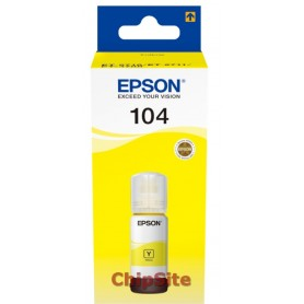 Epson 104 EcoTank  Amarelo ink Bottle