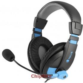 NGS Headset MSX9 Preto/Azul