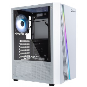 Unika Glayze RGB Gaming White