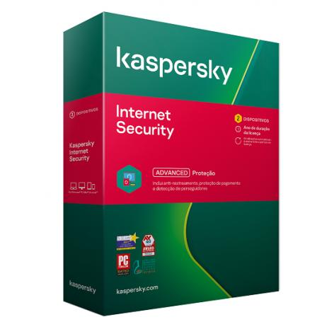 Kaspersky Internet Security  (2 PC'S)