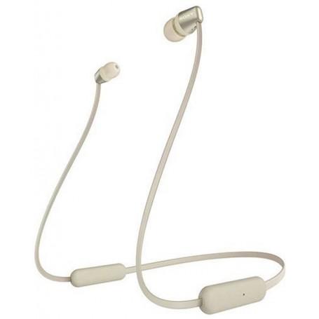 Sony Auriculares Bluetooth  WI-C310N Dourado