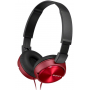 Sony Auscultadores MDR-ZX310R Vermelho