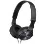 Sony Auscultadores MDR-ZX310B Black