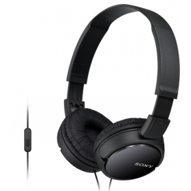 Sony Auscultadores MDR-ZX110APB Black