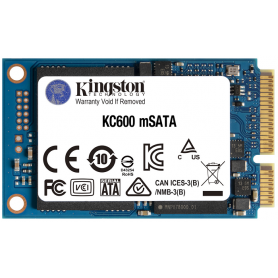 Kingston SSD mSATA KC600 256GB