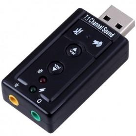 Placa de Som USB Ewent 7.1