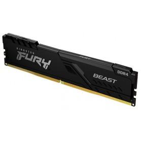 Kingston 8GB DDR4 2666MHz FURY Beast Black