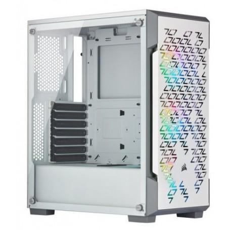 Corsair iCUE 220T RGB Airflow Vidro Temperado White
